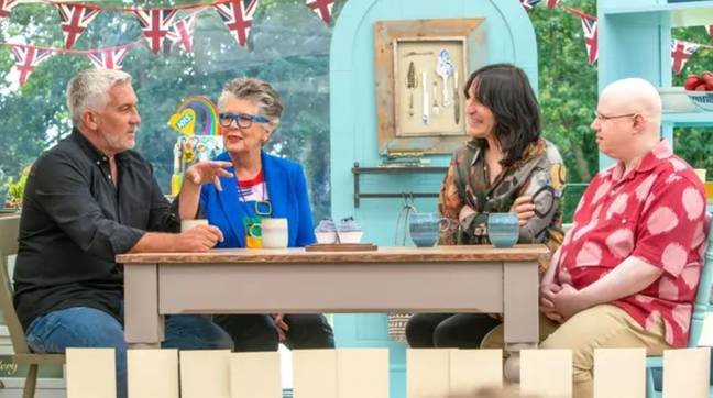GBBO returns next month, although a start date hasn't been announced (Credit: Channel 4)