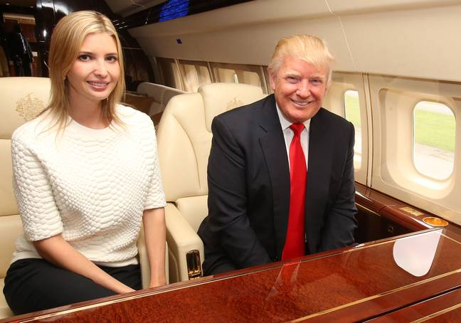 Ivanka Trump pledged her father's support for equal pay (Credit: PA)