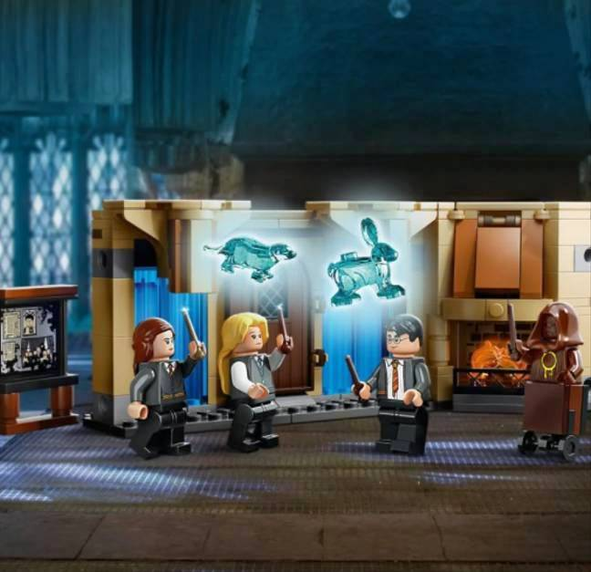 LEGO's sets let Potter fans recreate the most iconic scenes from the beloved book series. (Credit: LEGO)