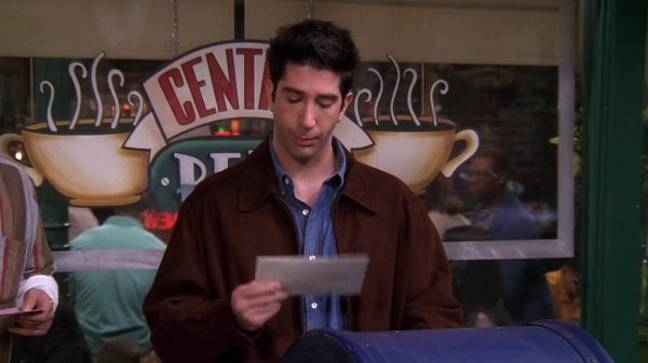 The show centres on Ross inviting Rachel to his wedding to Emily (Credit: Warner Bros)