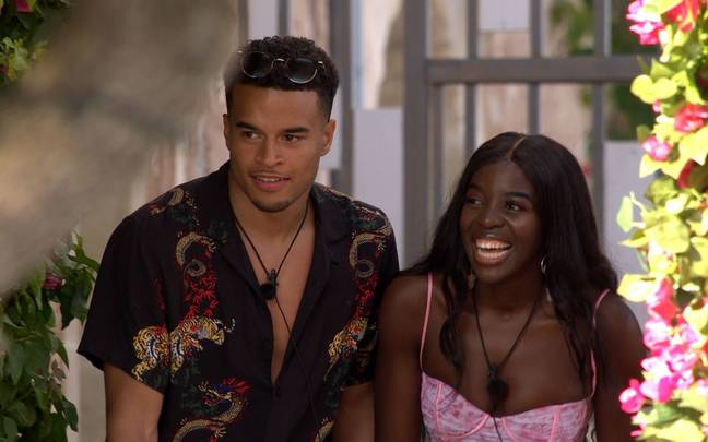 The pair had a date a few days ago (Credit: ITV)