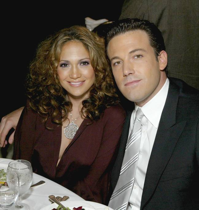 Ben and JLO dated in 2002-2003 (Credit: Shutterstock)
