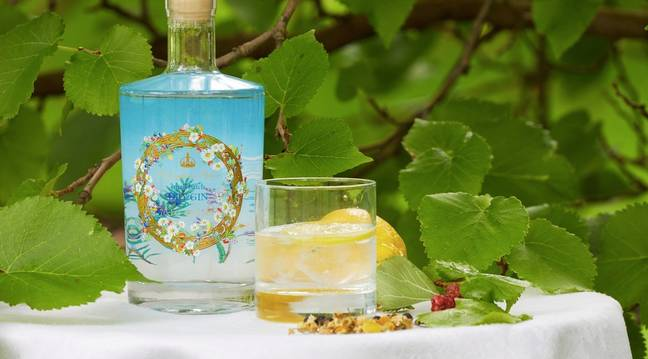 The dry gin was the first release from the Royal charity (Credit: Royal Collection Trust/PA)