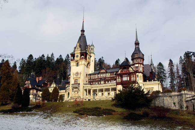 Peles Castle in Romania is open to visitors (Credit: PA)