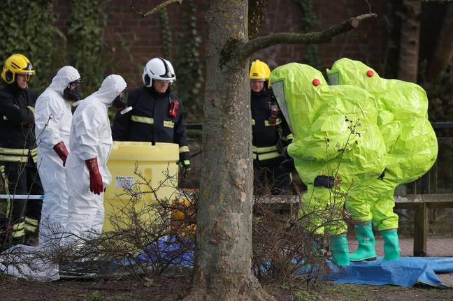 The Salisbury Poisonings was inspired by real events (Credit: PA)