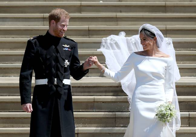 The pair's wedding was watched worldwide (Credit: PA Images)