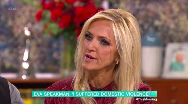 Eva Speakman, a therapist on 'This Morning' revealed her abuse with a former partner. (Credit: This Morning/ITV)