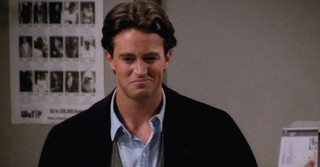 Matthew Perry's dad made an appearance on the show (Credit: NBC)