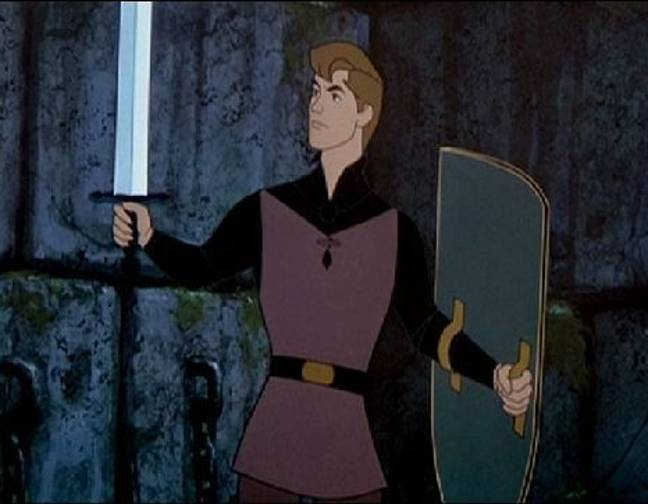 People think Prince Phillip in Sleeping Beauty was inspired by Prince Philip, the Duke of Edinburgh (Credit: Disney)