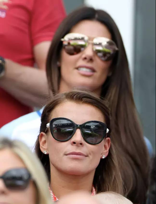 The war of the WAGs is ongoing. (Credit: PA)