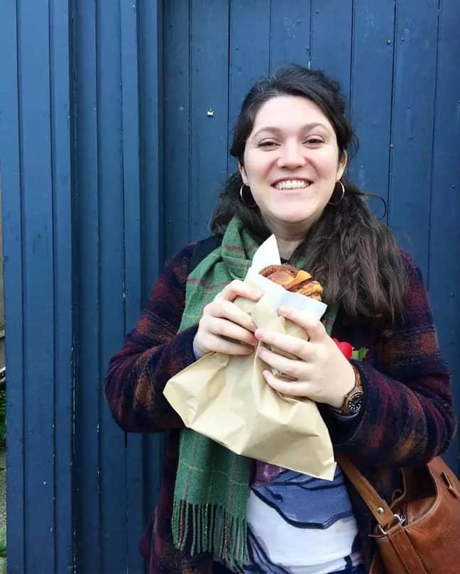 Emmie felt pressured to lose weight ahead of her big day (Credit: Emmie Harrison-West)