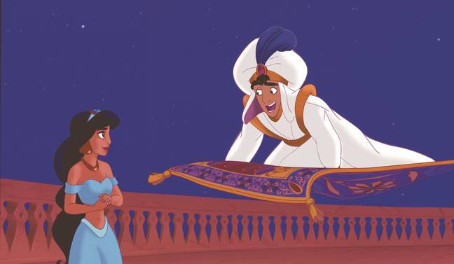 A Whole New World from Aladdin (Credit: Disney)