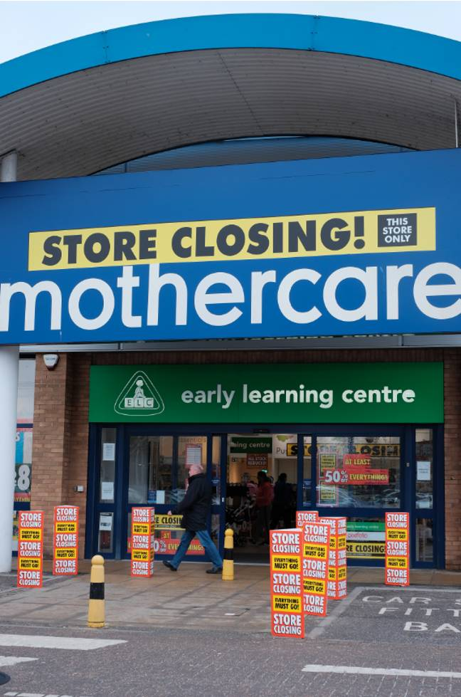Mothercare has announced it is going into administration (Credit: PA)