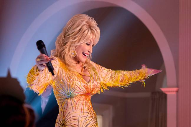 Dolly stars in four of the episodes which are inspired by songs from her epic back catalogue (Credit: Netflix)