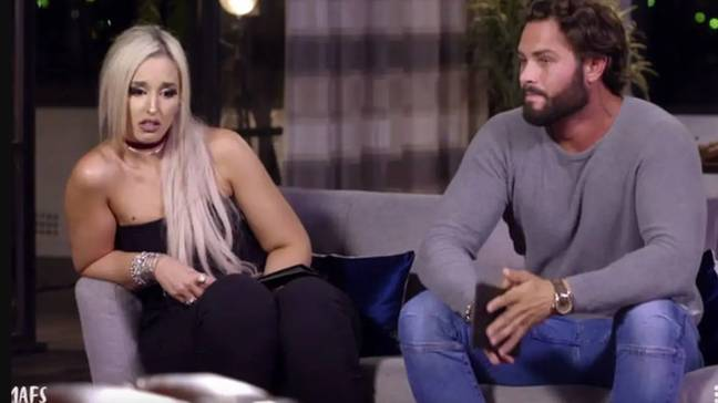 MAFS Australia's Sam was married to Lizzie in the show (Credit: Nine Network)