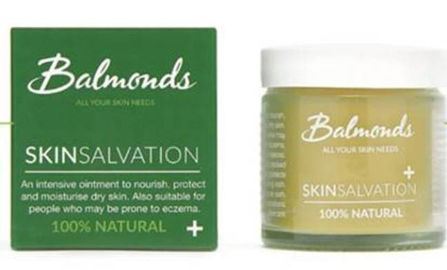 Balmonds Skin Salvation is a natural blend of nutritious hemp seed, safflower, olive oil and beeswax (Credit: Balmonds)