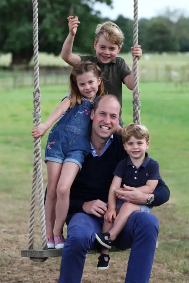 The royal couple have three children; Prince George, Princess Charlotte and Prince Louis (Credit: Kensington Royal / Instagram)