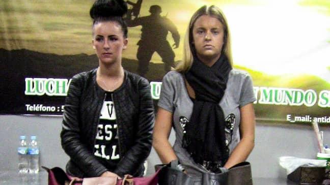 Michaella McCollum and Melissa Reid. (Credit: BBC Three)