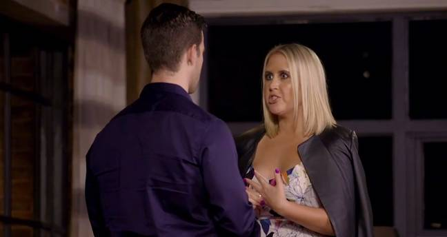 Matt also accused Lauren of sending 'abusive messages' (Credit: Channel Nine)
