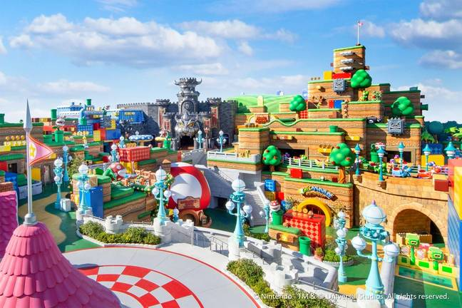 The Nintendo themed park is going to be truly magical (Credit: Nintendo)