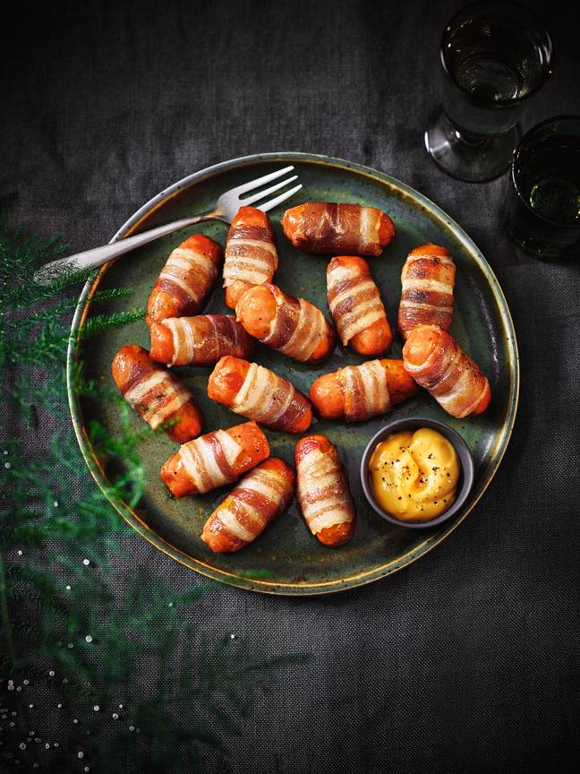Chorizo-style pigs in blankets. Credit: Tesco