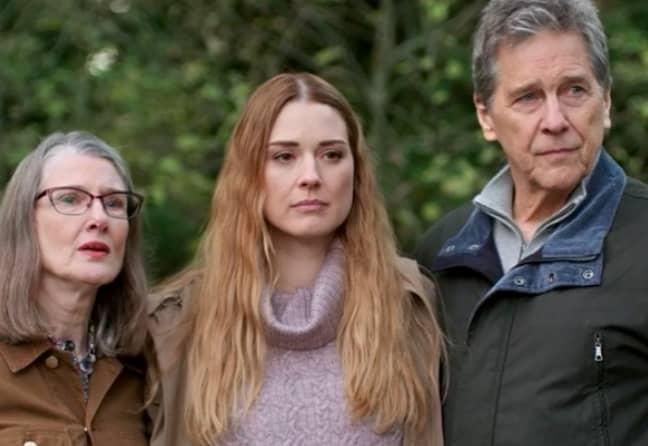 Hope, Mel and Doc in Virgin River (Credit: Instagram/virginriverseries)