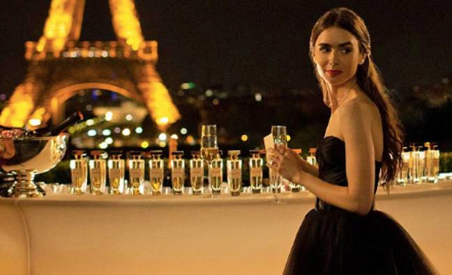 It's looking like Emily is staying in Paris (Credit: Netflix)