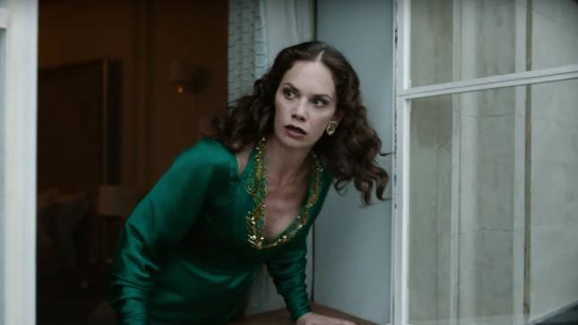 Ruth Wilson plays Mrs Coulter in His Dark Materials (Credit: BBC)