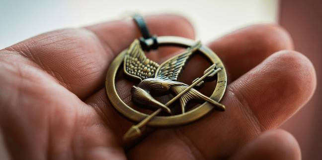 Many said it resembled the mockingjay from The Hunger Games (Credit: Lionsgate)