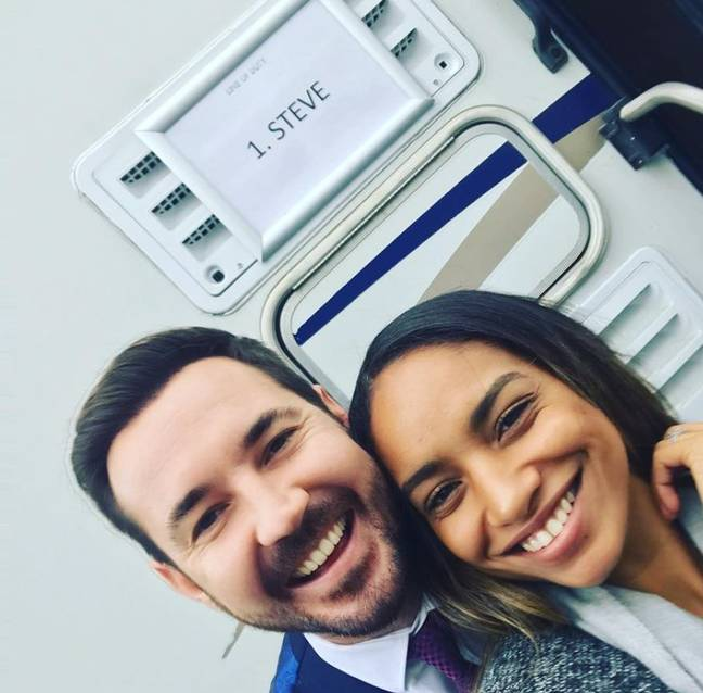 Martin and Tianna married in 2016 (Credit: Instagram - Martin Compston)
