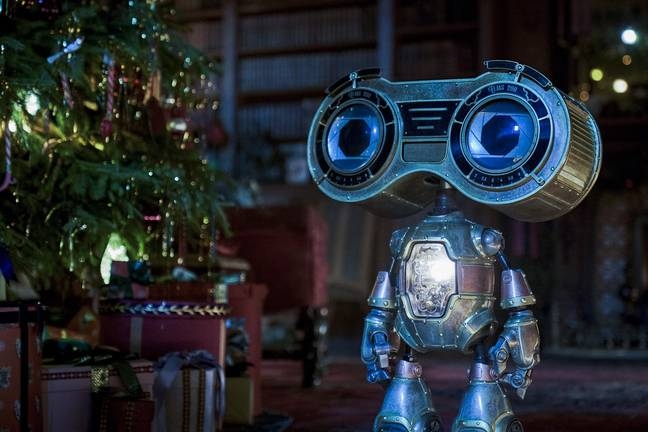 Buddy, an adorable little robot, is at the centre of the movie's storyline (Credit: Netflix)