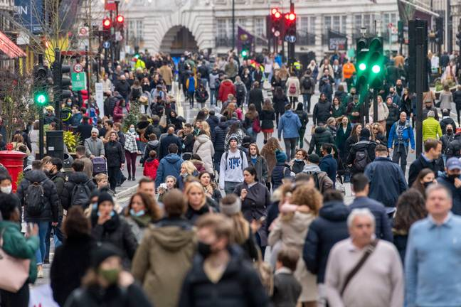 London has been busy despite Tier 2 restrictions (Credit: PA Images)