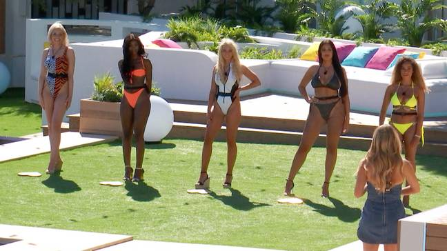 Anna pictured alongside her fellow Love Island Contestants. Credit: Love Island / ITV2