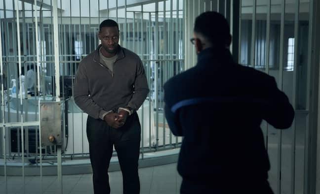 Omar Sy plays the criminal mastermind (Credit: Netflix)