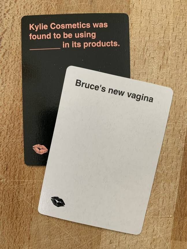 The party game is perfect for 'KUWTK' fans (Credit: Cards Against Kardashians)