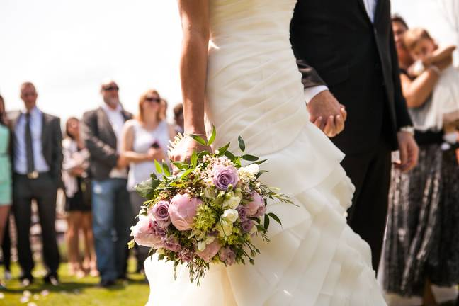 Weddings can now have more than 30 guests (Credit: Shutterstock)