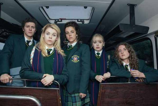 Catch Derry Girls on All 4 (Credit: Channel 4)