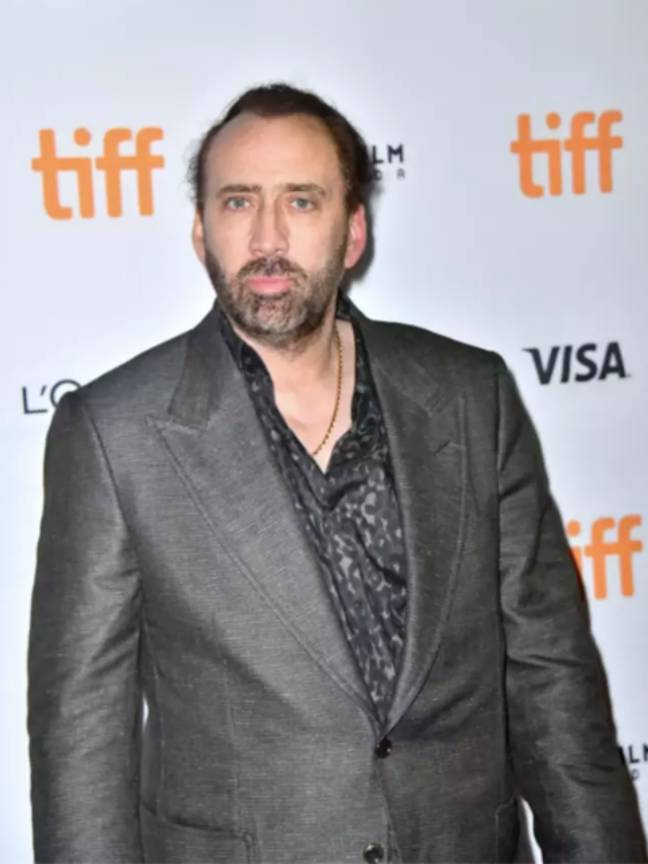 Nicolas Cage is set to take on the role of Joe Exotic in a new miniseries (Credit: PA)