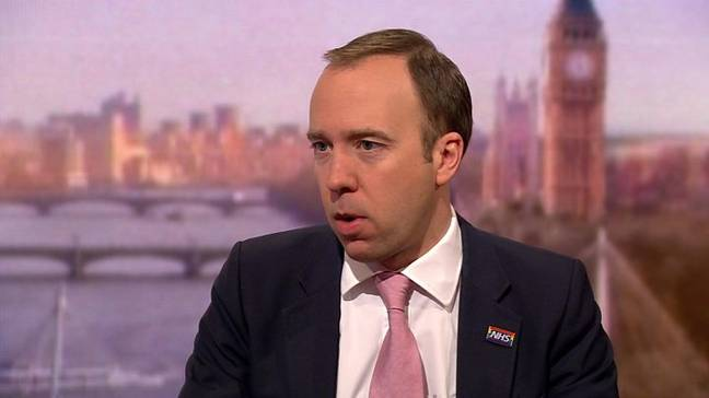 Matt Hancock said all over 70's may soon have to stay in (Credit: BBC Breakfast)
