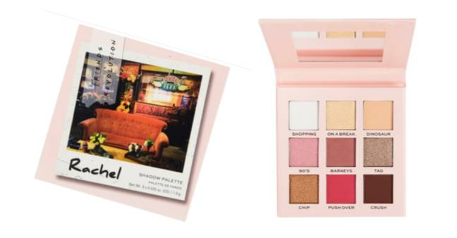 Rachel's palette has colours such as 'On A Break' and 'Barney's' (Credit: Revolution Beauty)