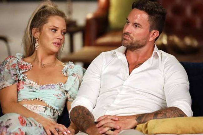 The experts decided to replay Jess and Nic's private conversation, which came as a huge blow to Dan (Credit: Channel Nine)