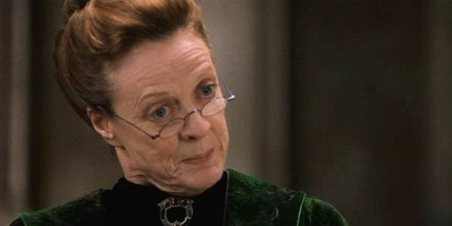 Maggie Smith played the Transfiguration teacher (Credit: Warner Bros)