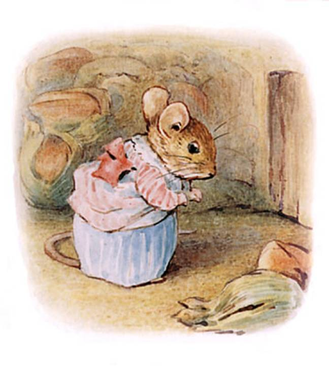 Mrs Tittlemouse is part of the Peter Rabbit series by Beatrix Potter (Credit: Wikimedia)