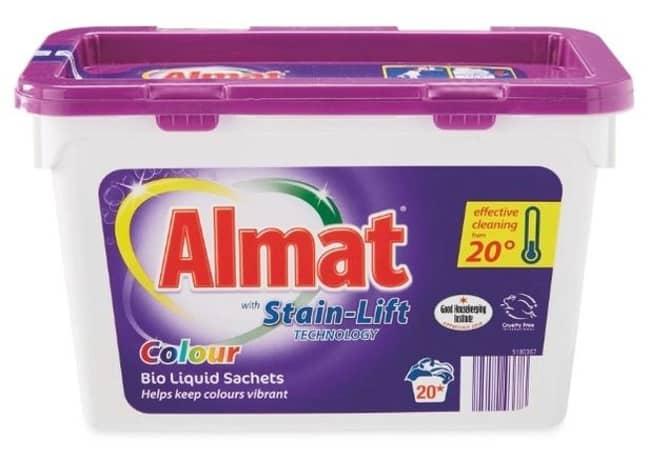The Almat bio liquid sachet burst in Willow's hands