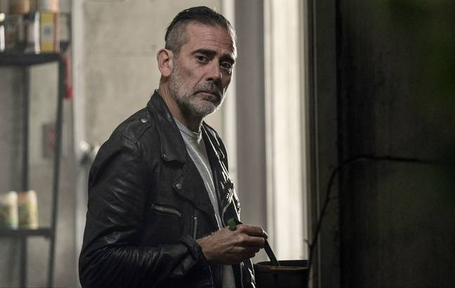 Negan will be reunited with a familiar face (Credit: AMC)
