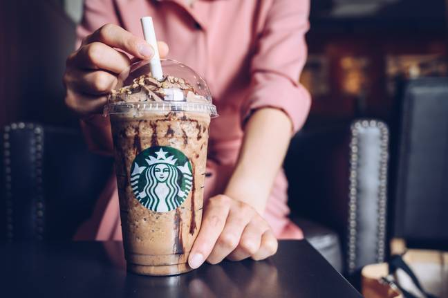 Starbucks has a whole range of frappuccinos for you to try this spring, including the classic java chip frappuccino (Credit: Shutterstock)