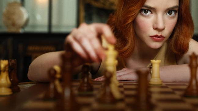 'The Queen's Gambit' follows young chess prodigy Beth Harmon (Credit: Netflix)