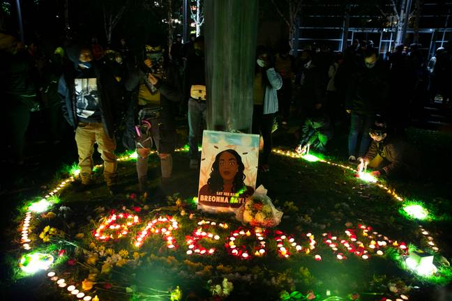 Breonna Taylor's death was one of the spurring influences behind the Black Lives Matter movement (Credit: PA Images)