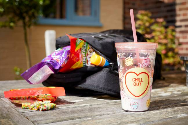 Love Heart straw cup costs, £7.99. Credit: Swizzels
