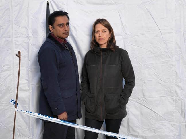 Nicola Walker and Sanjeev Bhaskar are back (Credit: ITV)